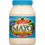 Our Family Light Mayo Mayonnaise Dressing
