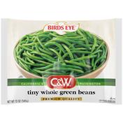 Birds Eye C&W Tiny Whole Green Beans