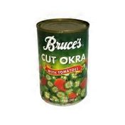 Bruce's Cut Okra With Tomatoes