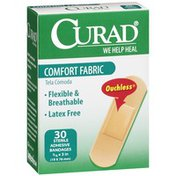 CURAD Ouchless Comfort Fabric Bandages