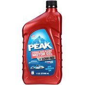 Peak High Mileage SAE 10W-40 Motor Oil