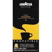 Lavazza Coffee, Ground, Lungo, Leggero