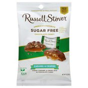 Russell Stover Caramel & Crispies, Sugar Free
