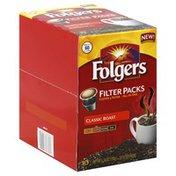 Folgers Coffee & Filter, Medium, Classic Roast, Filter Packs