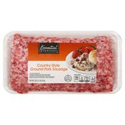 Essential Everyday Pork Sausage, Ground, Country-Style