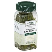 The Spice Hunter Bay Leaves, California, Whole, Organic, Bottle