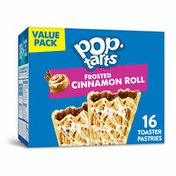 Kellogg's Pop-Tarts Toaster Pastries, Breakfast Foods, Baked in the USA, Cinnamon Roll Drizzle