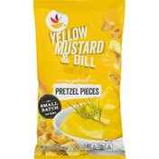 Ahold Pretzel Pieces, Yellow Mustard & Dill Inspired