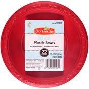 Our Family 20 Oz. Plastic Bowls