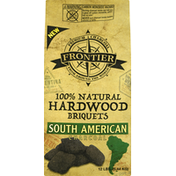 Frontier Charcoal, Briquets, Hardwood, South American