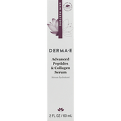 DERMA E Serum, Advanced Peptides & Collagen
