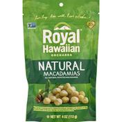 Royal Hawaiian Orchards Macadamias, Natural