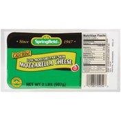 Springfield Low-Moisture Part-Skim Mozzarella Cheese