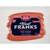 Dietz & Watson Franks, Beef, Natural Casing