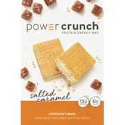 Power Crunch Protein Energy Bar, Salted Caramel, 5 Pack