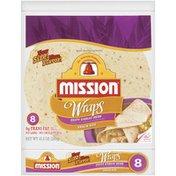 Mission Snack Size Zesty Garlic Herb Wraps