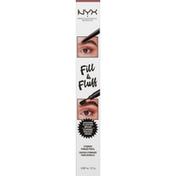 NYX Professional Makeup Eyebrow Pomade Pencil, Fill & Fluff, Auburn