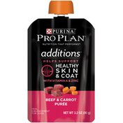 Pro Plan Dog Wet Additions Beef & Carrot Purée Meal Enhancement