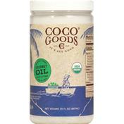 Coco Goods Coconut Oil, Organic, Virgin