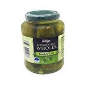 Meijer Kosher Dill REFRIGERATED WHOLES