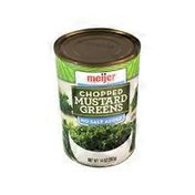 Meijer No Salt Added Chopped Mustard Greens