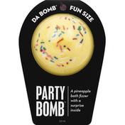 Da Bomb Bath Fizzer, Party Bomb, Fun Size