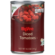 Hy-Vee Diced Tomatoes