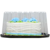 First Street Cake, White