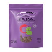 Fusionjerky Chili Basil Artisan Turkey Jerky