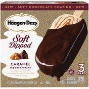 Haagen-Dazs Soft Dipped Caramel Ice Cream Bars