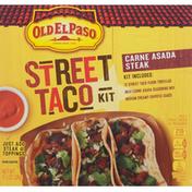 Old El Paso Street Taco Kit, Carne Asada Steak