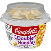 Campbell's® double noodle soup with topping