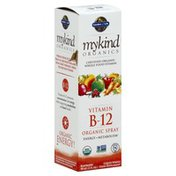 Garden of Life Organic Spray, Vitamin B-12, Raspberry