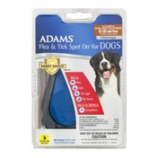 Adams Flea & Tick Spot On for Extra Large Dogs/Puppies 81 LBS and Over