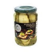 Culinary Circle Kosher Dill Sandwich Slices Pickles