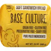 Base Culture Sandwich Bread, Soft