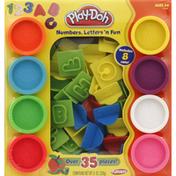 Play-Doh Numbers, Letters 'n Fun