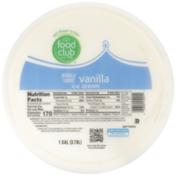 Food Club Vanilla Ice Cream
