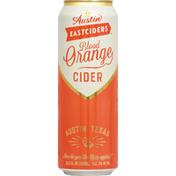 Austin East Ciders Cider, Blood Orange