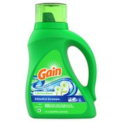 Gain Aroma Boost Liquid Laundry Detergent, Blissful Breeze Scent