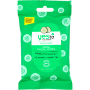 Yes To Facial Wipes, Calming