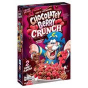 Cap'N Crunch 's Sweetened Corn & Oat Cereal Chocolatey Berry Crunch 12.5Oz Box