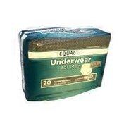 Equaline Men's Disposable Underwear S/M