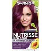 Nutrisse® Ultra Color Nourishing Color Creme V2 Dark Intense Violet Haircolor