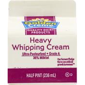 Golden Creme Whipping Cream, Heavy, 36% Milkfat