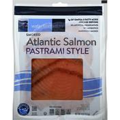 Waterfront Bistro Salmon, Atlantic, Pastrami Style, Smoked