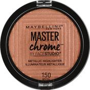 Maybelline Highlighter, Metallic, Molten Peach 150