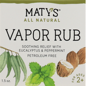 Maty's Vapor Rub