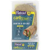 Flatout CarbDown Olive Oil & Sea Salt Flatbreads