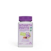 SmartyPants Daily Organic Gummy Toddler Multivitamin: Vitamin C, D3 & Zinc for Immunity, Omega 3, Selenium, Biotin, B6, Methyl B12 for Energy